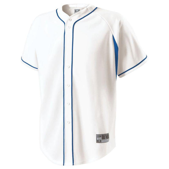 Ignite Jersey White/navy Adult Baseball