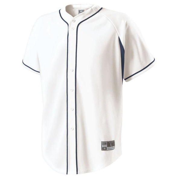 Ignite Jersey White/black Adult Baseball