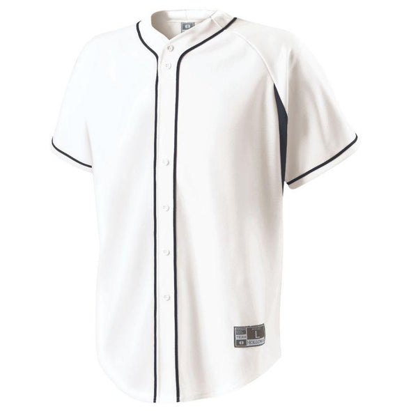 Ignite Jersey White/royal Adult Baseball