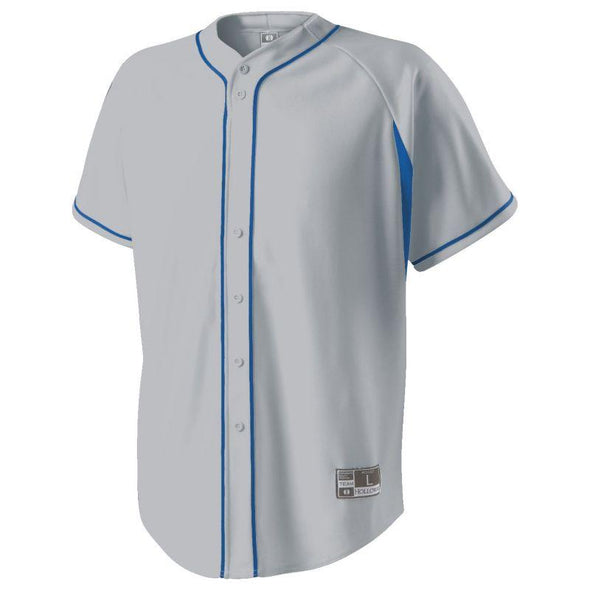 Ignite Jersey Blue Grey/navy Adult Baseball
