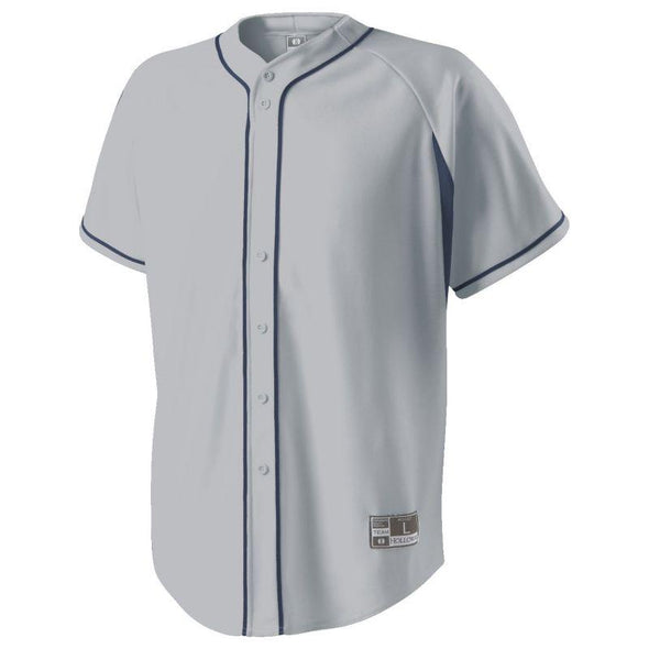 Ignite Jersey Blue Grey/royal Adult Baseball