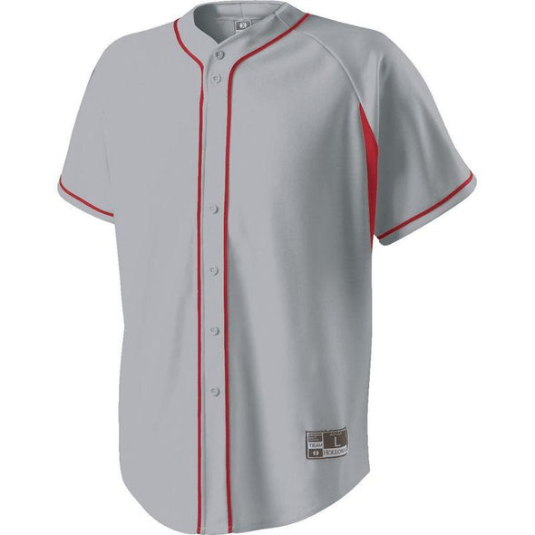 Ignite Jersey Blue Grey/scarlet Adult Baseball