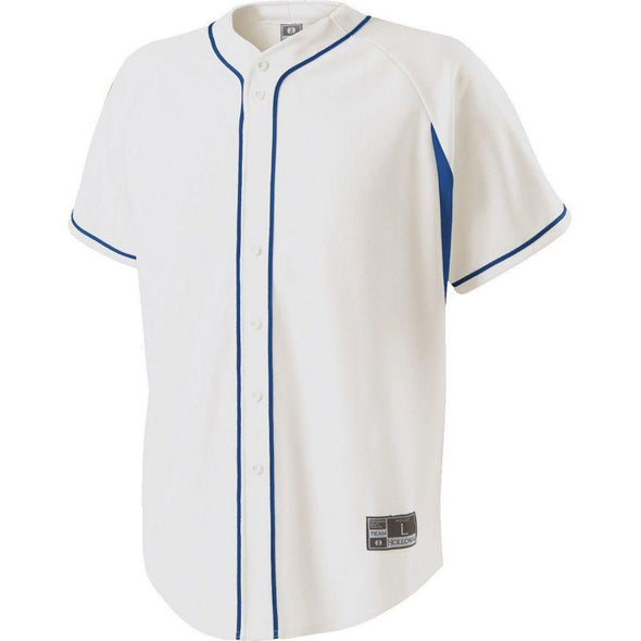 Youth Ignite Jersey White/royal Baseball