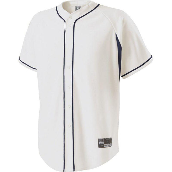 Youth Ignite Jersey White/navy Baseball