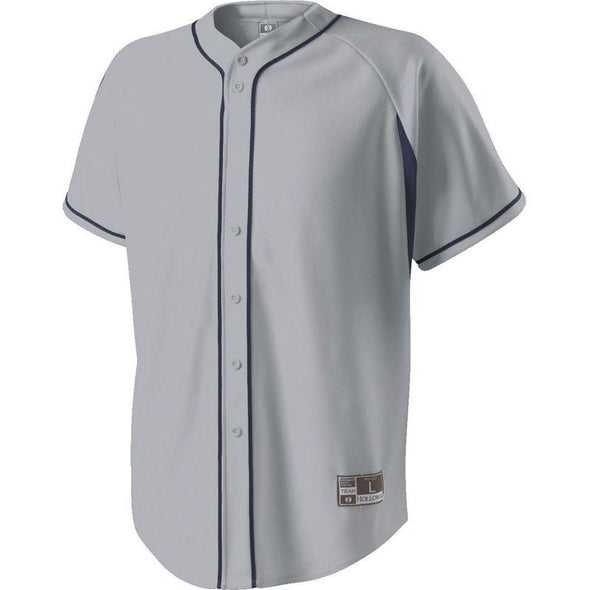 Youth Ignite Jersey Blue Grey/navy Baseball