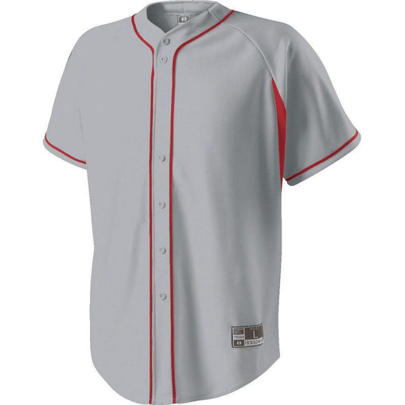 Youth Ignite Jersey Blue Grey/scarlet Baseball