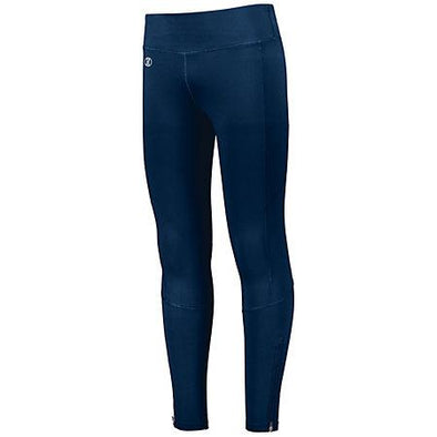 Ladies High Rise Tech Tight Navy Adult Volleyball