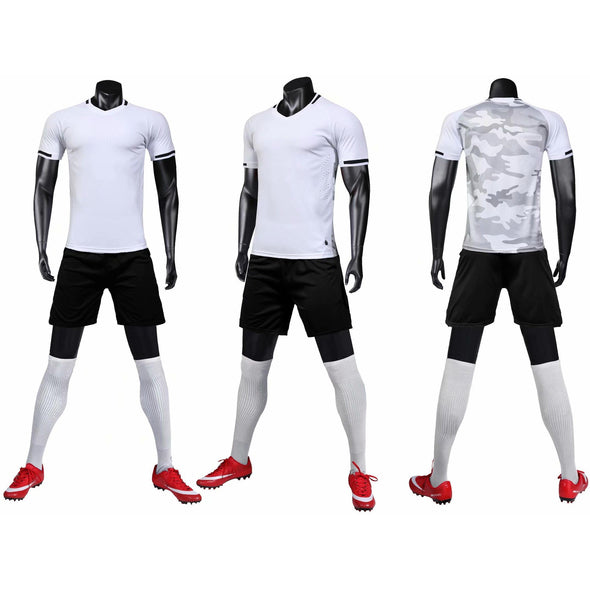 White 162 Adult Soccer Uniforms