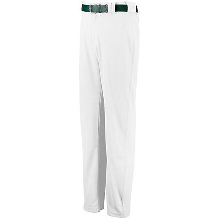 Boot Cut Game Pant Blanco Béisbol para adultos