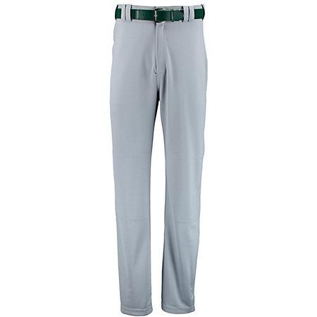Boot Cut Game Pant Baseball Gris Adulto