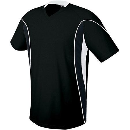Helix Jersey Black/black/white Adult Single Soccer & Shorts