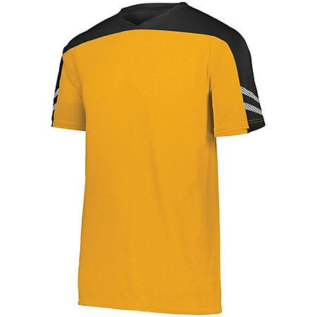 Youth Afield Soccer Jersey Athletic Gold/black/white Single & Shorts