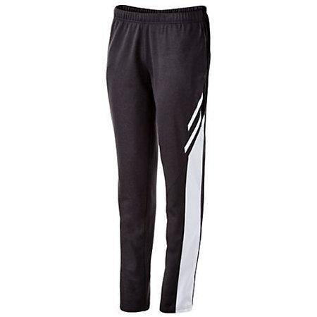 Ladies Flux Tapered Leg Pant Black Heather/white/white Basketball Single Jersey & Shorts
