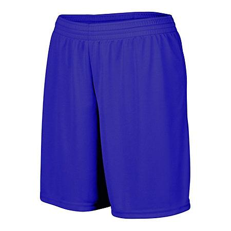 Ladies Octane Shorts Purple Softball