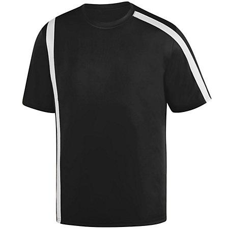 Youth Attacking Third Jersey Black/white Single Soccer & Shorts