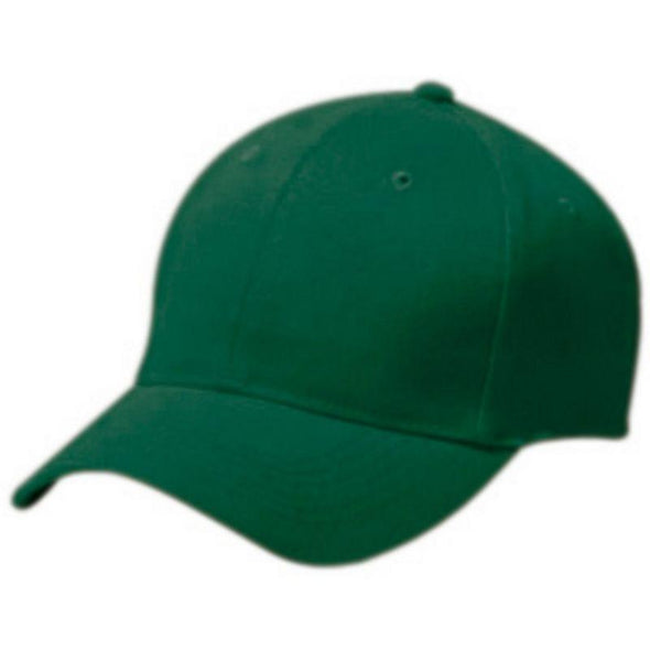 Adult Cotton Twill Six Panel Cap Forest Baseball