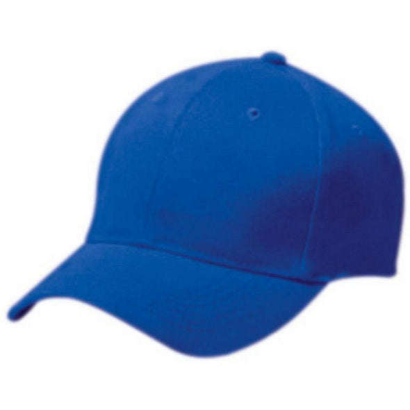 Adult Cotton Twill Six Panel Cap Royal Baseball