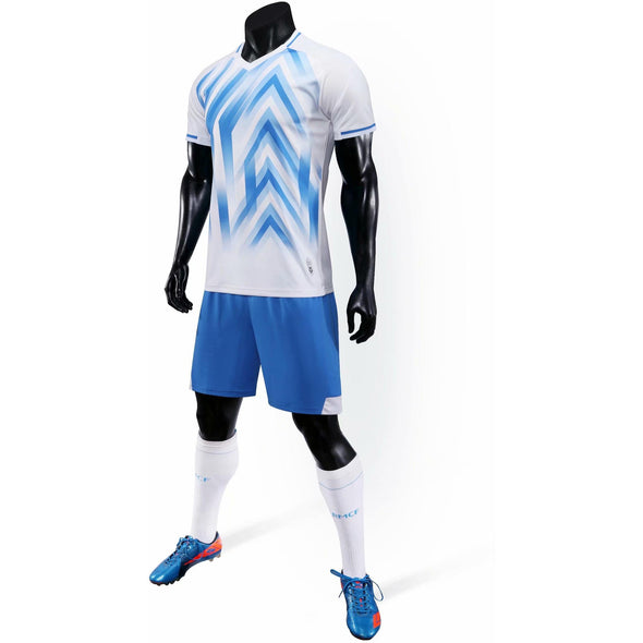 White 171 Adult Soccer Uniforms