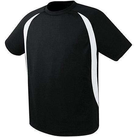 Liberty Soccer Jersey Black/white Adult Single & Shorts