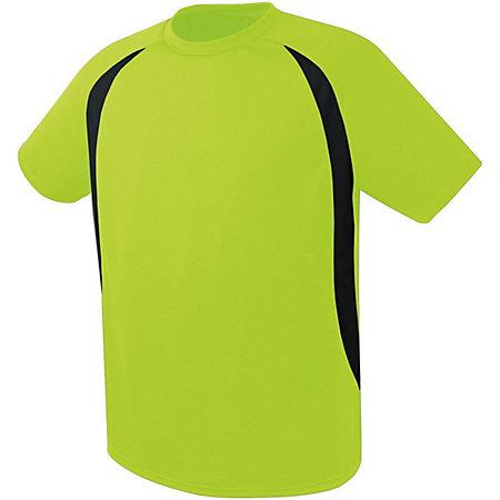 Liberty Soccer Jersey Lime/black Adult Single & Shorts