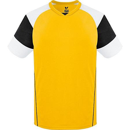 Munro Jersey Athletic Gold/black/white Adult Single Soccer & Shorts