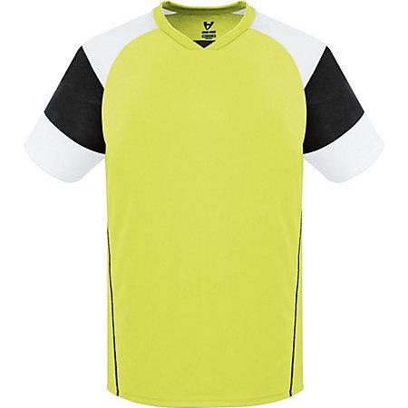Munro Jersey Lime/black/white Adult Single Soccer & Shorts