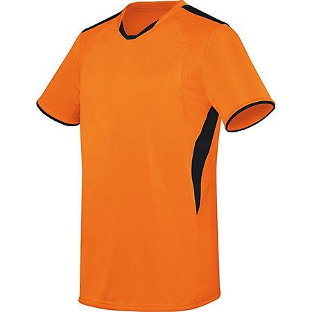 Globe Jersey Orange/black Adult Single Soccer & Shorts