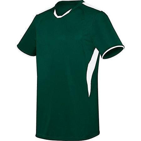 Globe Jersey Forest/white Adult Single Soccer & Shorts