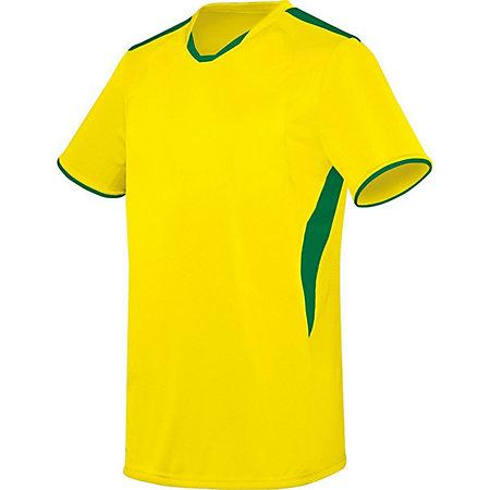 Globe Jersey Power Yellow/kelly Adult Single Soccer & Shorts