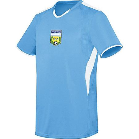 Youth Globe International Jersey Argentina Single Soccer & Shorts