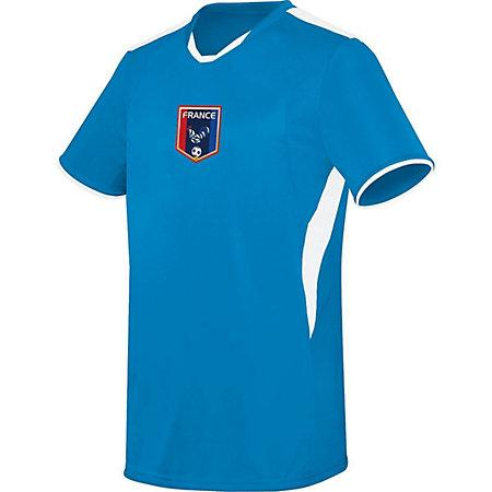 Youth Globe International Jersey France Single Soccer & Shorts