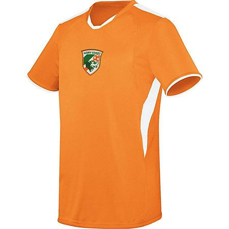 Youth Globe International Jersey Ivorycoast Single Soccer & Shorts