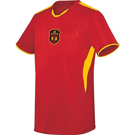Youth Globe International Jersey Spain Single Soccer & Shorts
