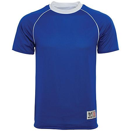 Conversion Reversible Jersey Royal / white Adult Single Soccer & Shorts