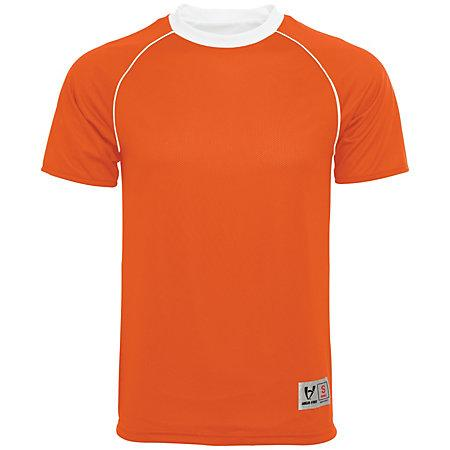 Conversion Reversible Jersey Orange / white Adult Single Soccer & Shorts