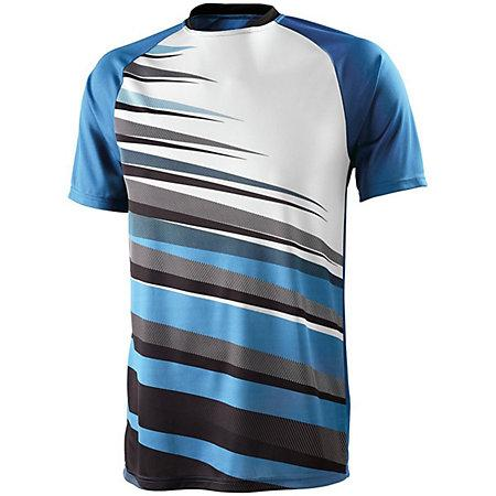 Adult Galactic Jersey Columbia Blue/black/white Accesories