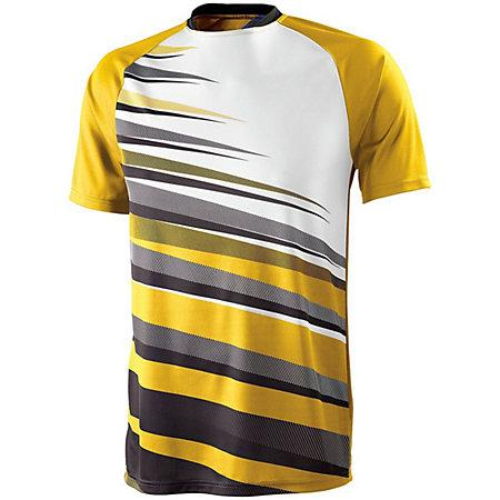 Youth Galactic Jersey Vegas Gold/black/white Single Soccer & Shorts