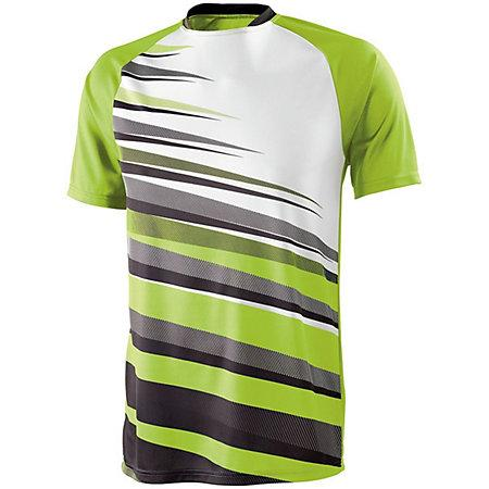Youth Galactic Jersey Lime/black/white Single Soccer & Shorts
