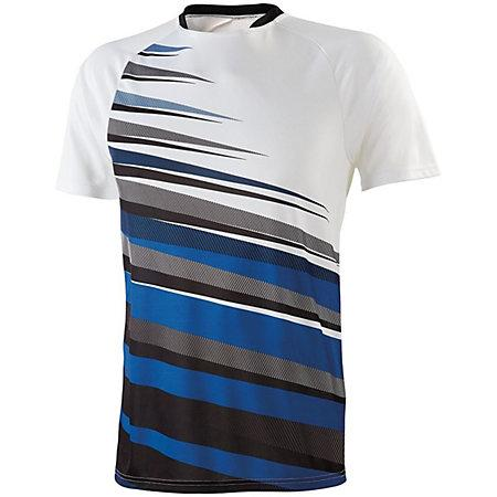 Youth Galactic Jersey White/black/royal Single Soccer & Shorts
