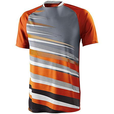 Youth Galactic Jersey Power Orange/white/graphite Single Soccer & Shorts