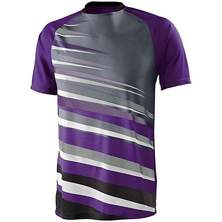 Youth Galactic Jersey Purple/black/graphite Single Soccer & Shorts