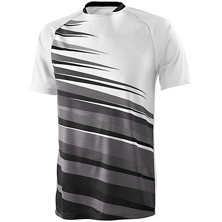 Youth Galactic Jersey White/black/graphite Single Soccer & Shorts