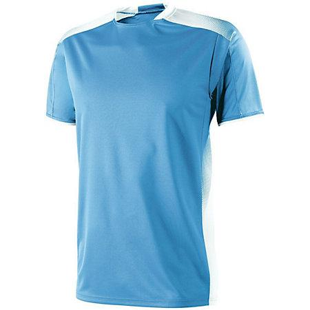 Adult Ionic Soccer Jersey Columbia Blue/white Single & Shorts