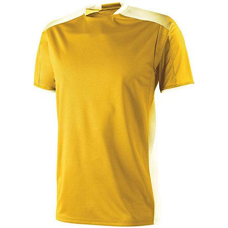 Adult Ionic Soccer Jersey Athletic Gold/white Single & Shorts
