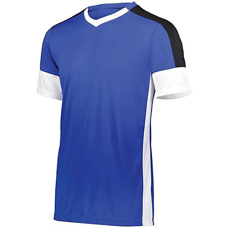 Wembley Soccer Jersey Royal/white/black Adult Single & Shorts