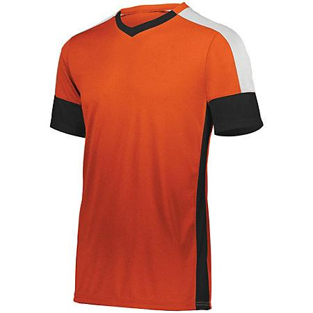 Wembley Soccer Jersey Orange/black/white Adult Single & Shorts