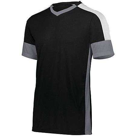 Wembley Soccer Jersey Black/graphite/white Adult Single & Shorts