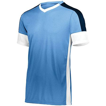 Wembley Soccer Jersey Columbia Blue/white/navy Adult Single & Shorts