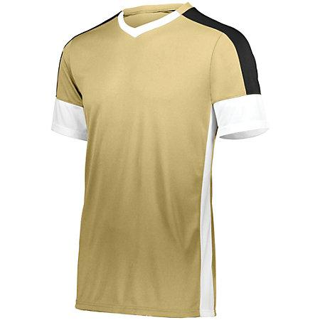 Wembley Soccer Jersey Vegas Gold/white/black Adult Single & Shorts