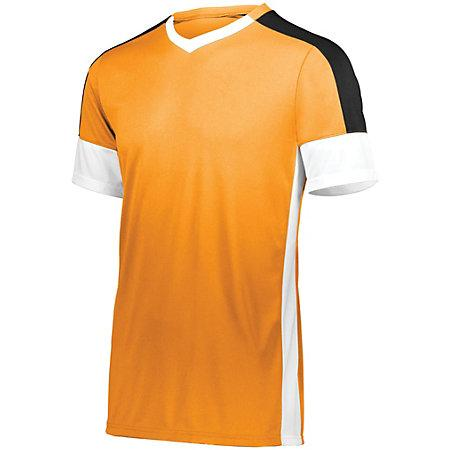 Wembley Soccer Jersey Power Orange/white/black Adult Single & Shorts